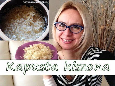 Kapusta kiszona - jak zrobić i dlaczego jest taka zdrowa:-)/ kierunek zdrowie - YouTube