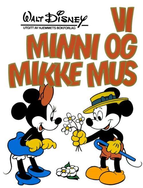 Detaljer for Kjempebøker (Jeg bøkene) Vi, minni og mikke mus 1982