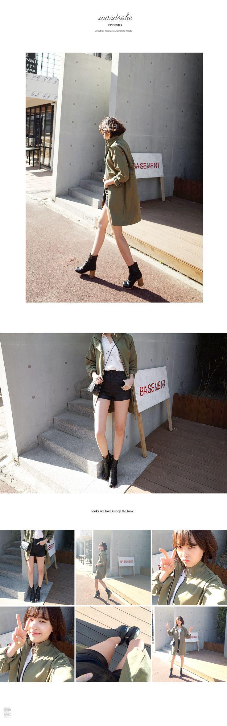 コーティングブラックハイウエストショートパンツ・全1色パンツ・ズボンショートパンツ|レディースファッション通販 DHOLICディーホリック [ファストファッション 水着 ワンピース]