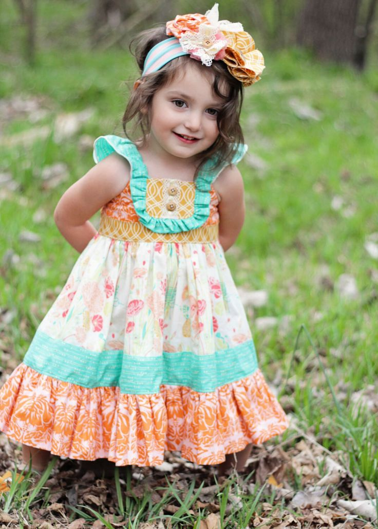 The Adelaide Dress, boutique Girls dress, toddler vintage by MarmaladeClothing on Etsy https://www.etsy.com/listing/185028742/the-adelaide-dress-boutique-girls-dress