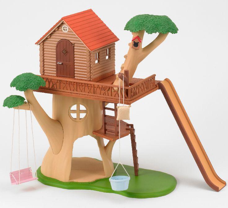 Дерево-дом sylvanian families