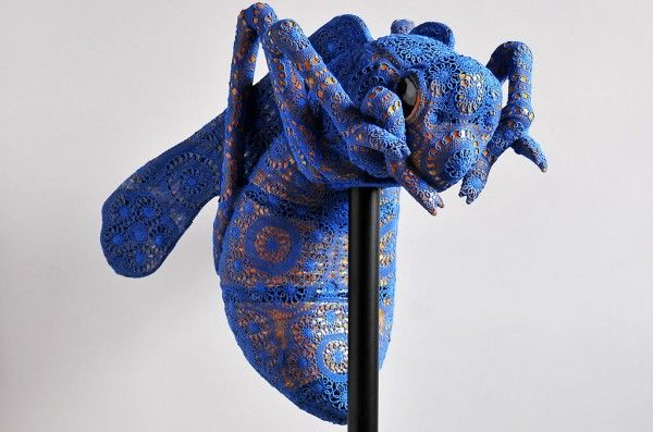Loving the new work from Mixed media and #crochet #artist Joana Vasconcelos