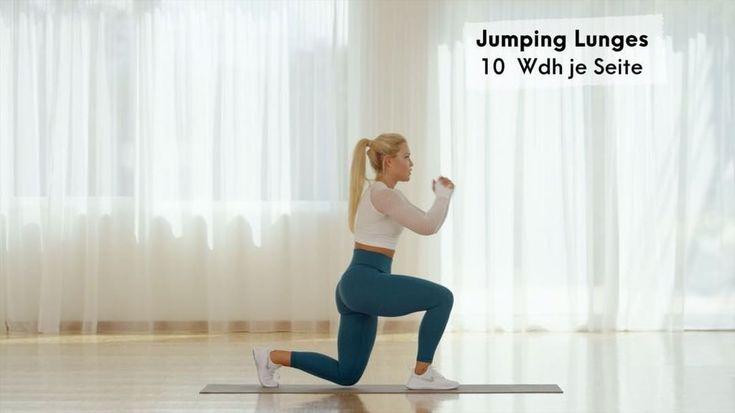 Zahlreiche Fitness-Influencer wie Sophia Thiel halten sich mit High Intensitity …