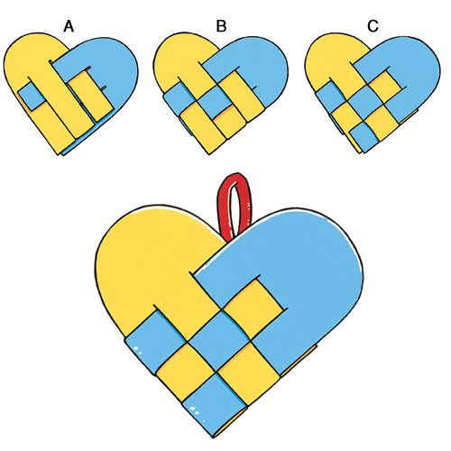Valentine's Day Weaving | Craft | The Mailbox