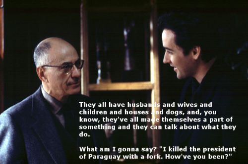 literatesilliness:  from Grosse Pointe Blank, 1997