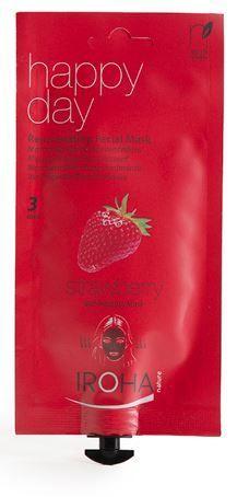Iroha Self-heating Facial Mask Rejuvenating Strawberry .8 fl. oz. Beauty Time- $9.99 on http://www.faceandbodyshoppe.com