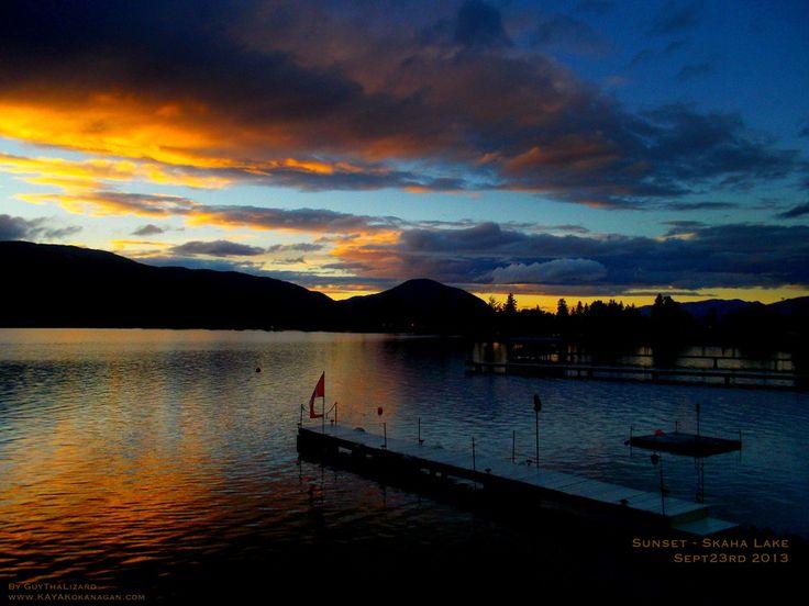 Sunset - Skaha Lake