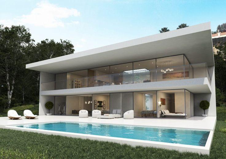 Casas modernas | 10 ejemplos de diseño espectacular | Arquitectura, distribución, fachadas, interiores y precios de viviendas modernas | Blog LIVING KITS