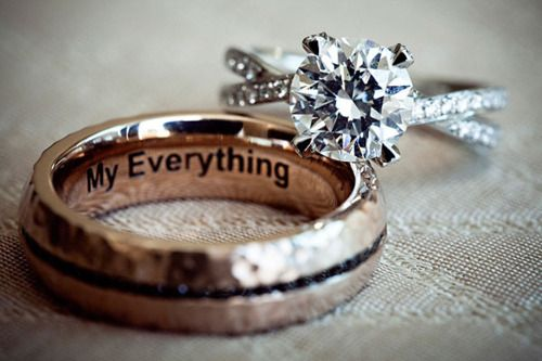 awhh!: Idea, Diamonds Rings, Wedding Band, Rings Shots, Wedding Rings, Men Rings, My Everything, The Band, Engagement Rings