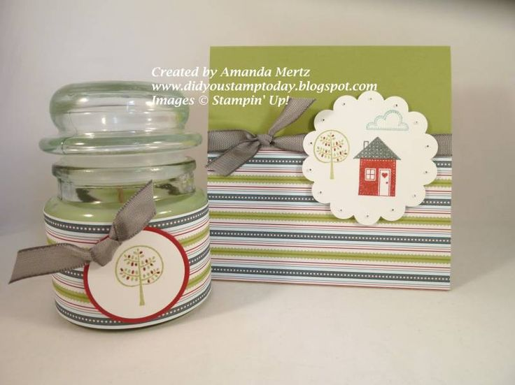 Twitterpated New Neighbor Gift by mandypandy - Cards and Paper Crafts at Splitcoaststampers
