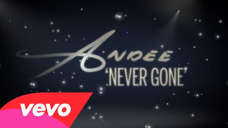 "The official lyric video for Andee's ""Never Gone""!"