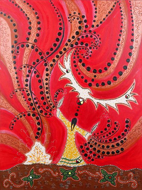 Red Eagle Woman ~ Leah Dorion, Métis