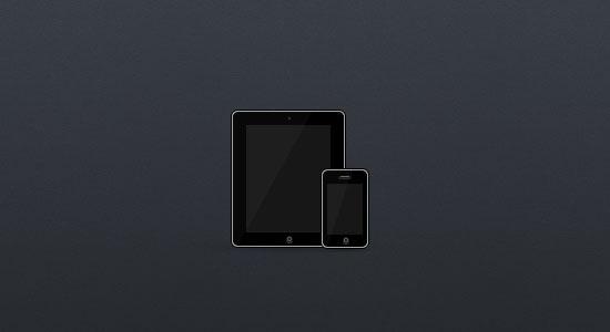 Free iPad & iPhone device icon
