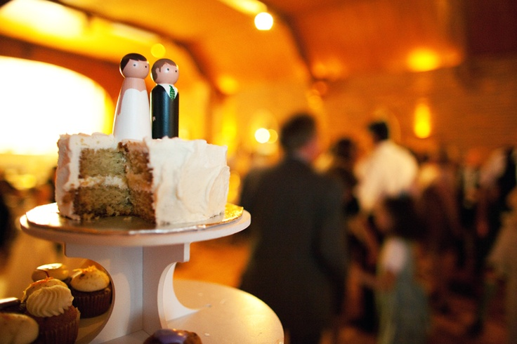 Wedding photography by Mark Shaar Photo, Montreal, Quebec. #reception #weddingcake #caketoppers