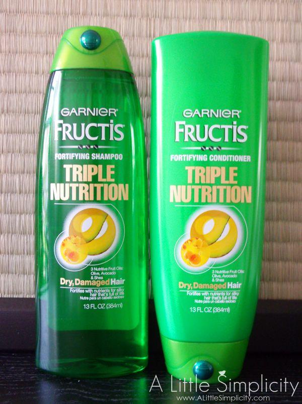 Garnier Fructis Triple Nutrition Review
