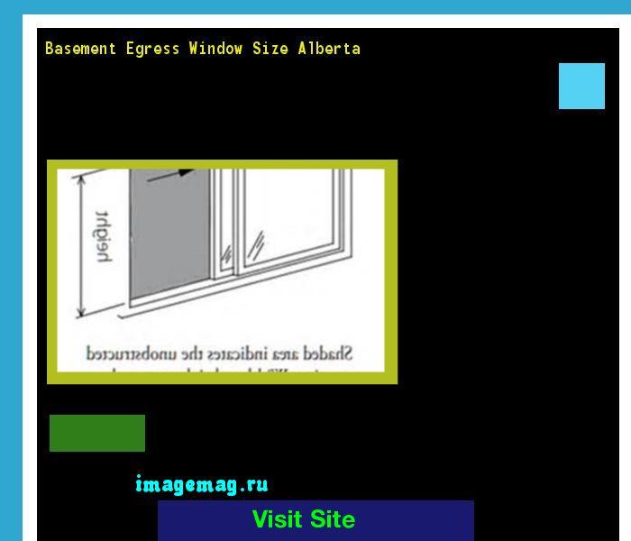 Basement Egress Window Size Alberta 095917 - The Best Image Search