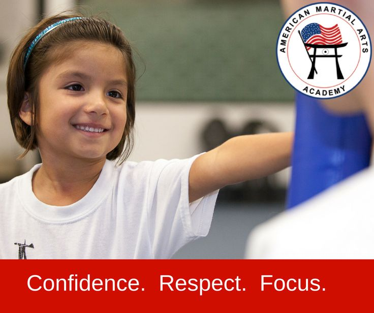 Your child will gain confidence, respect, and focus with karate classes at AMAA!