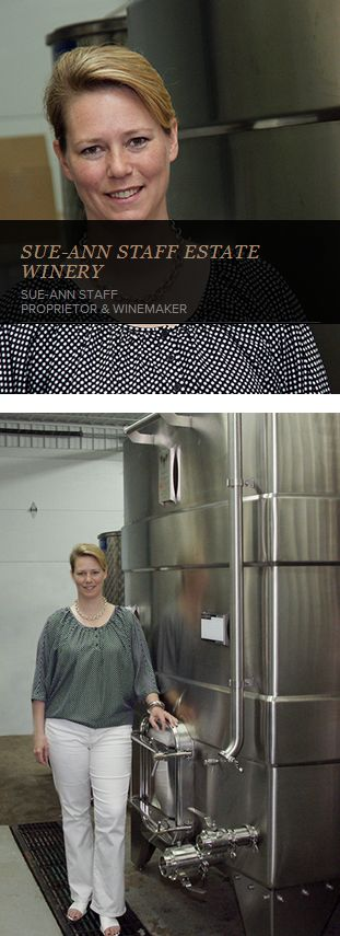 """Sue-Ann Staff : """"Given the quality, weight and gauge of stainless steel used, I know I have a tank that will last my entire life."""" #WineMaker #WineMaking #WineTank http://www.lagardeinox.com/en/realisations"""