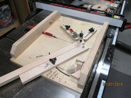 Segment Cutting Sled