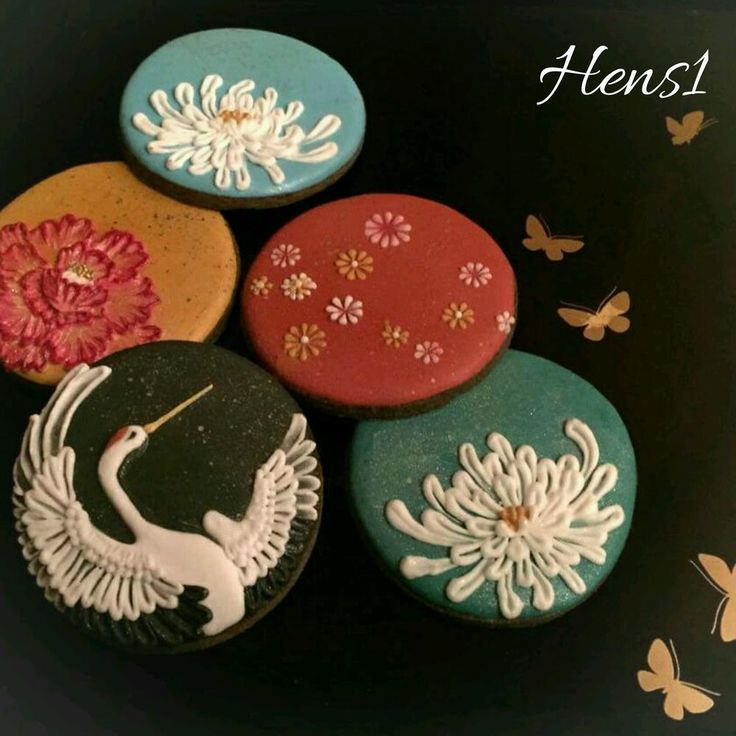 Japanese New Year's cookies 2016 by HENS1