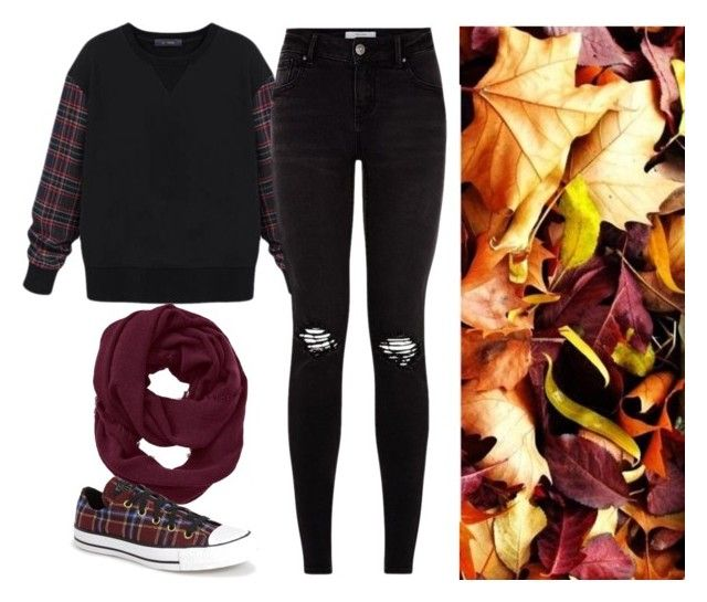 Fall by marieck-1 on Polyvore featuring polyvore, fashion, style, Converse and Athleta
