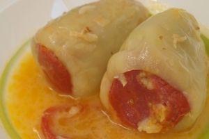 Фаршированный перец по-молдавски - рецепт с фото