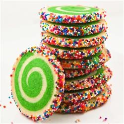 Spiral sugar cookies - so cool! @Dorothy Todd Smith