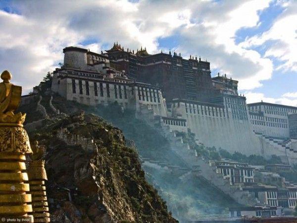 Тибет Дворец