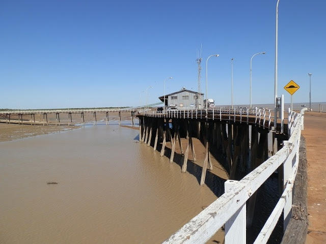 Derby Jetty on King Sound - Biggest Tide in the Southern Hemisphere!  Western #Australia