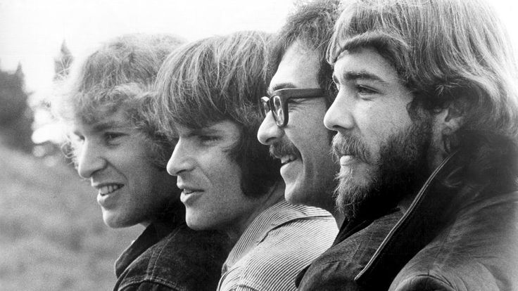 Creedence Clearwater Revival: Tom Fogerty, John Fogerty, Stu Cook & Doug Clifford