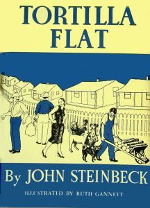 'Tortilla Flat' van John Steinbeck bestaat uit zeventien samenhangende verhalen, dat het verhaal van ridders van de Ronde Tafel verplaatst naar het Monterey van de Mexicaans-Amerikaanse paisanos.