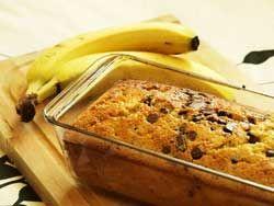 Gateau bananes chocolat un cake simple, trés facile à faire idéal pour un gouter