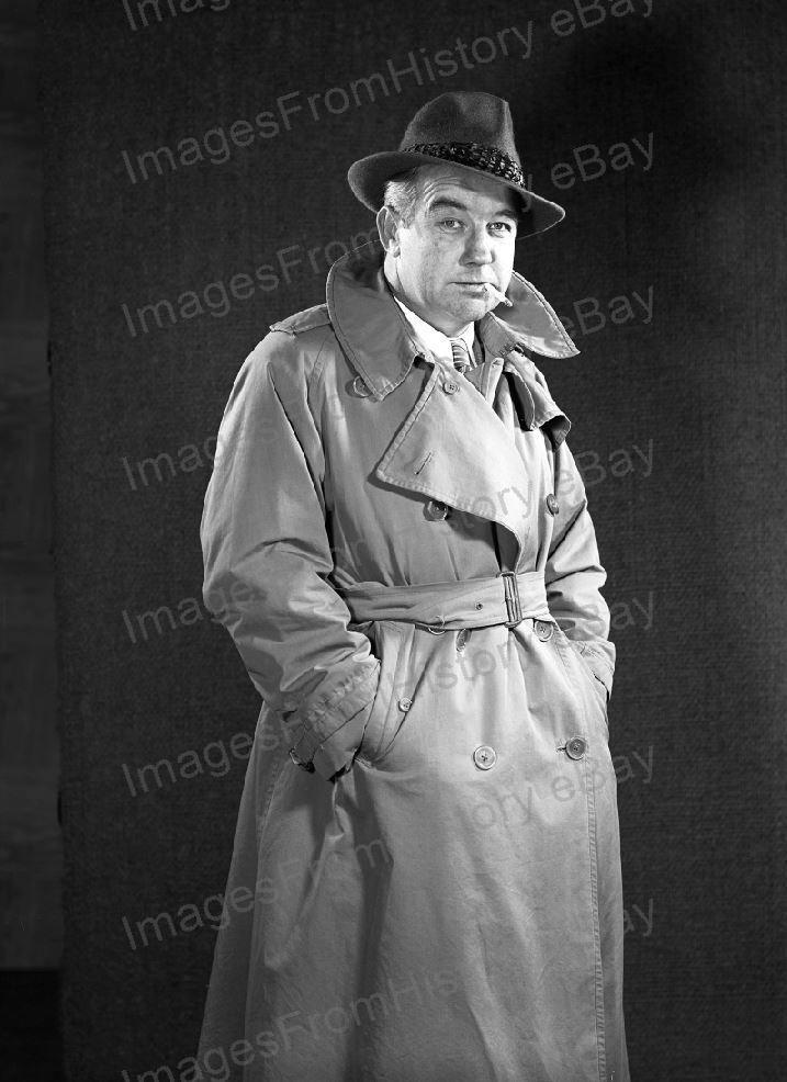 8x10 Print Broderick Crawford HighWay Patrol 1955 #1491