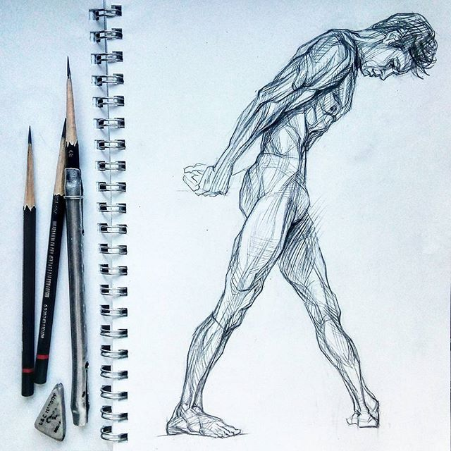 Let today and Sunday, me all the same do morning warm-up. One of two of my favourite models: though every day it is ready to draw Roberto Bolle and Nikolay Tsiskaridze. Today again sculptural Roberto. Not for nothing it is compared to the Greek statues, it is similar to them. Though, it seems to me he it is more similar to Michelangelo's creation.  Пусть сегодня и воскресенье, утреннюю разминку никто не отменял. Одна из двух моих любимых моделей: хоть каждый день готова рисовать Роберто…