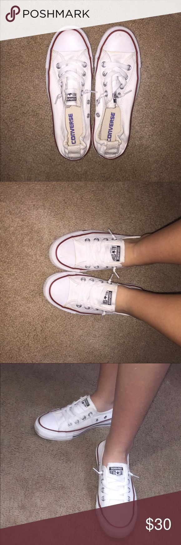 Converse (slip on) Slip on white Chuck Taylor Converse Converse Shoes Sneakers