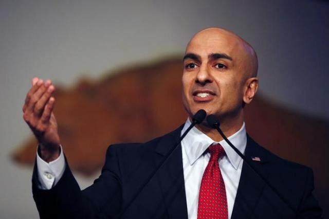 Neel Kashkari speaks on stage during the California Republican Party Spring Convention in Burlingame, California March 16, 2014  REUTERS/Stephen Lam