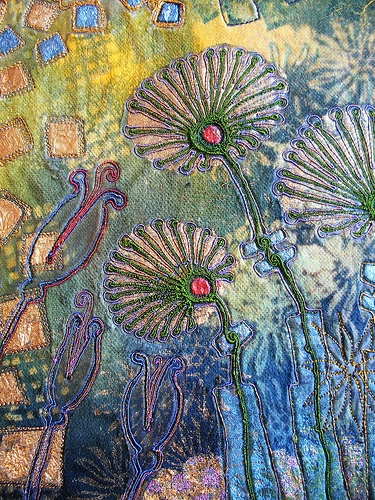 Fabric Art with Velvet - Angie Hughes