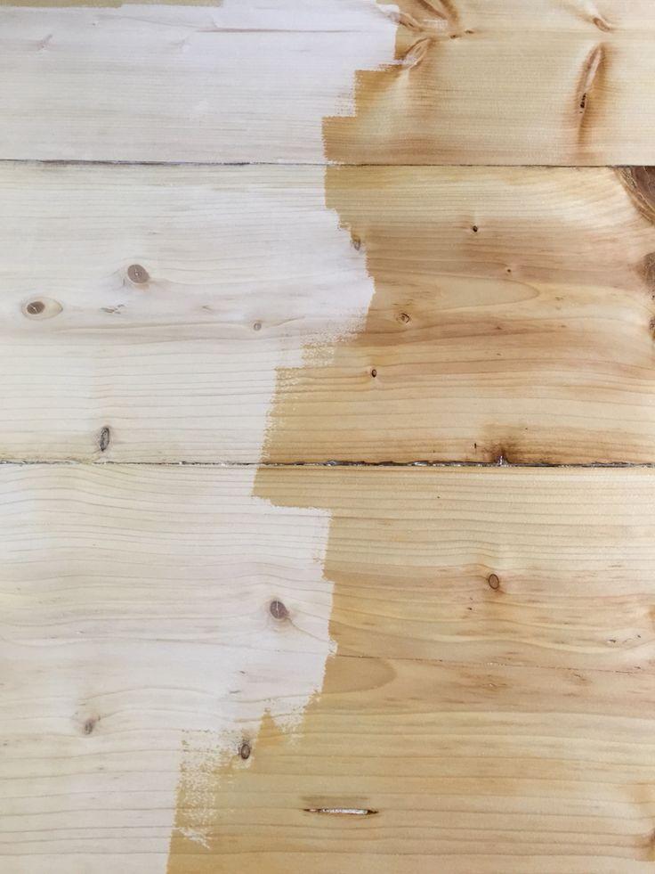Vorher-nachher Bootslack #wood