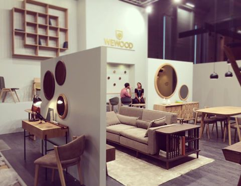 Wewood stand at #maison&oobject 2016