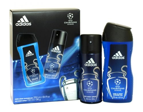 Adidas 2 piece champions league gift set