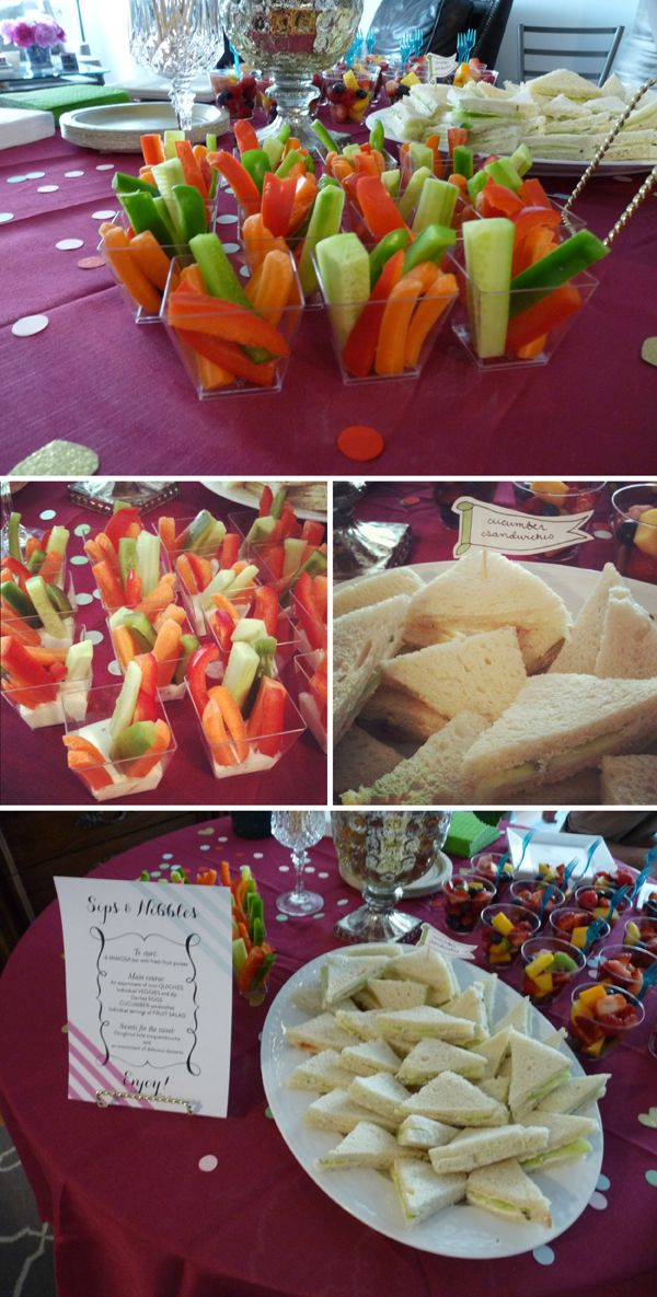 baby shower food ideas baby shower mini food ideas
