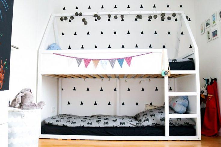 Haus-Hochbett Bauanleitung (IKEA Hack) und ein paar tolle Ideen für's Kinderzimmer