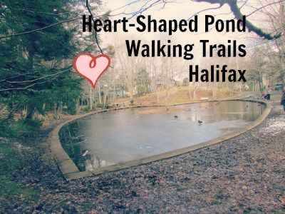 The Heart Shaped Pond walking trails in Halifax are an urban hidden gem!