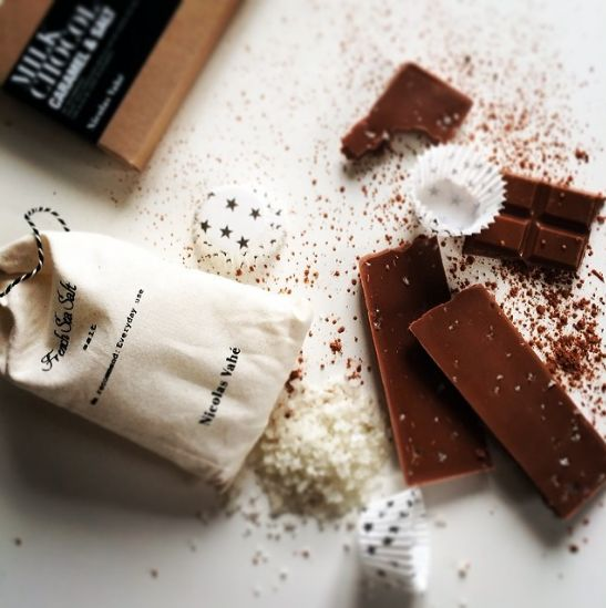 Choco time #milkchocolate #frenchsalt #caramel #nicolasvahe #nicolasvahé