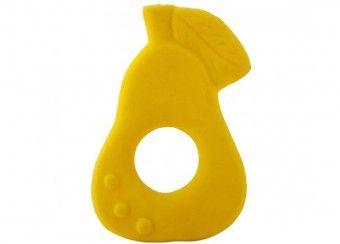 jouet pour le bain & anneau de dentition 'poire Chewies' Oli & Carol | shop pour enfants Le Petit Zèbre
