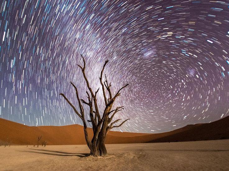 星の軌跡と「死の沼」デッドフレイ   ナショナルジオグラフィック日本版サイト