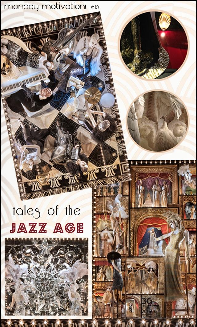 bergdorf goodman holiday 2012 windows // 30s inspiration // the bg follies