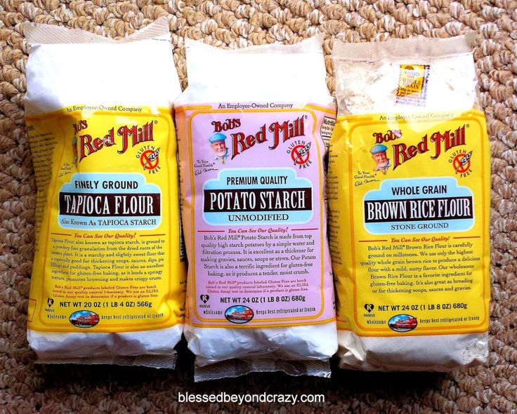 Gluten-free flour mixture.  Mix per amts listed and keep so anytime you want to bake you can.