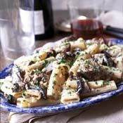 Rigatoni with Sirloin and Gorgonzola Sauce, Recipe from Cooking.com