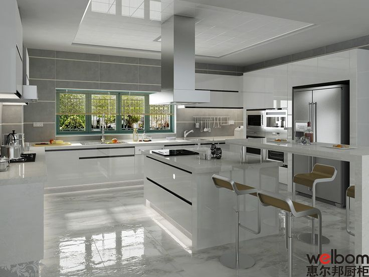 White High Gloss Lacquer Kitchen Cabinet Photos Pictures